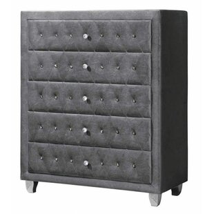 Rosdorf Park Lavallee 5 Drawer Chest