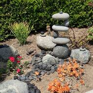 Rosecliff Heights Chicago Side 2 Side Cairn Garden Stone Reviews Wayfair