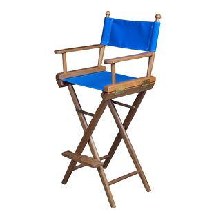 Captain's Folding Director Chair with Cushion by Whitecap Industries