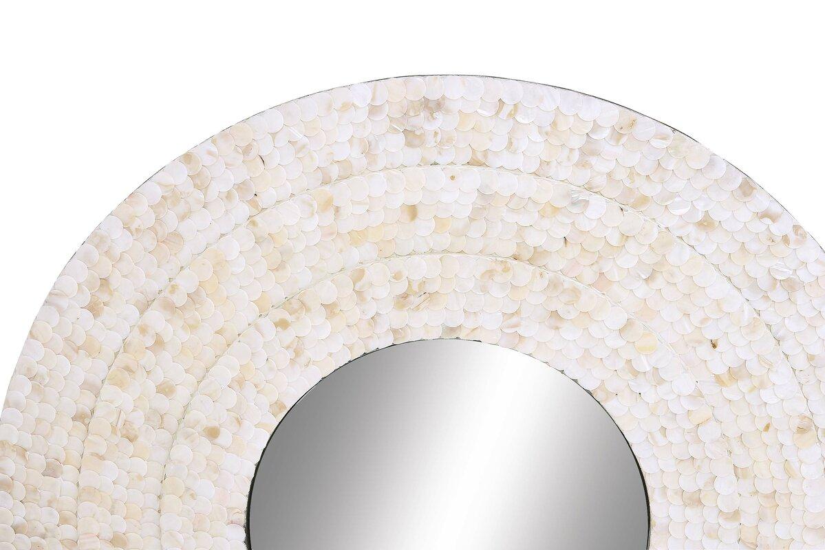 Wood Inlay Mirror