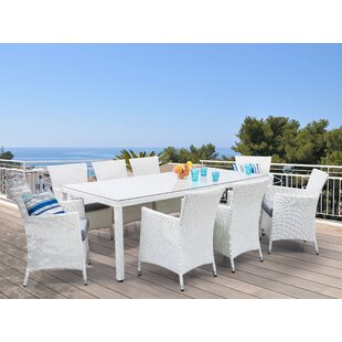 Andria 8 Seater Dining Set With Cushions By Sol 72 Outdoor