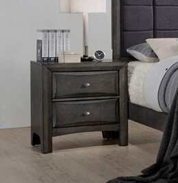 Anja 2 Drawer Nightstand