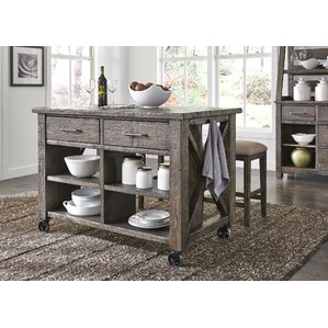 Castro Kitchen Island by Gracie Oaks
