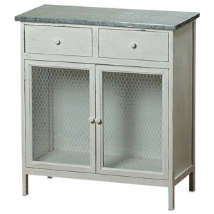 Isaias 2 Drawer Accent Cabinet by August Grove
