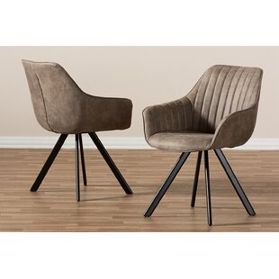 Billie Upholstered Dining Chair (Set of 2) by Brayden Studio