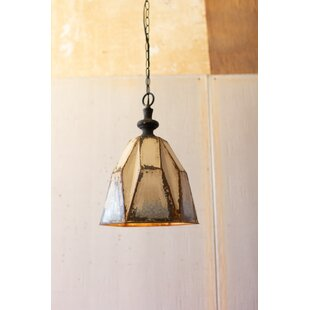 Yukon Metal 1-Light Geometric Pendant