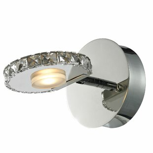Keana 1-Light LED Bath Sconce by House of Hampton