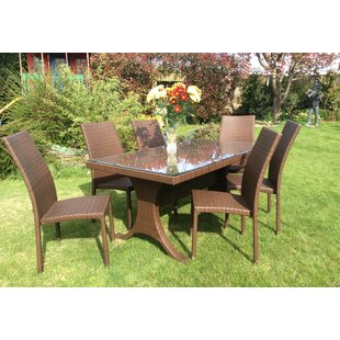 Wootton Bassett 6 Seater Dining Set By Sol 72 Outdoor