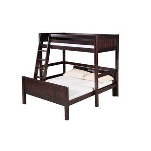 Oakwood Twin over Full L Shape Bunk Bed by Harriet Bee