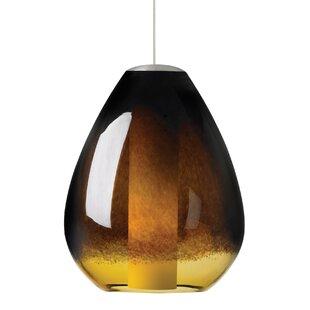 Horwich 1-Light Teardrop Pendant by World Menagerie