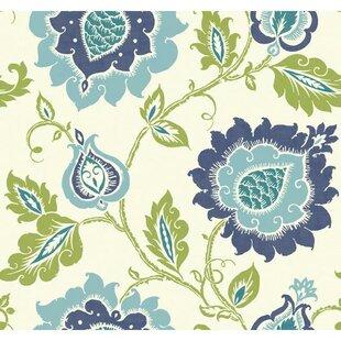 Large Print Floral Wallpaper