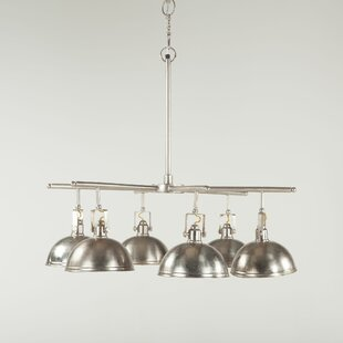 World Interiors Artezia 6-Light Shaded Chandelier