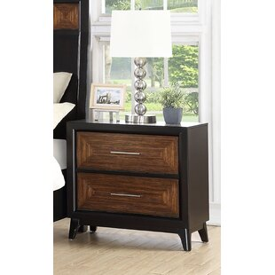 Moxee 2 Drawer Nightstand