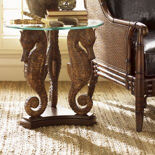 Landara Sea Horse End Table by Tommy Bahama Home Sale