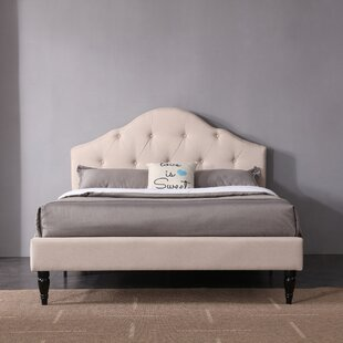 Charlton Home Etelvina Upholstered Platform Bed