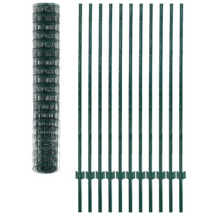 Lundeen  66' X 5' (20m X 1.5m) Fence Set By Sol 72 Outdoor