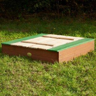 95cm Rectangular Sandbox By Freeport Park
