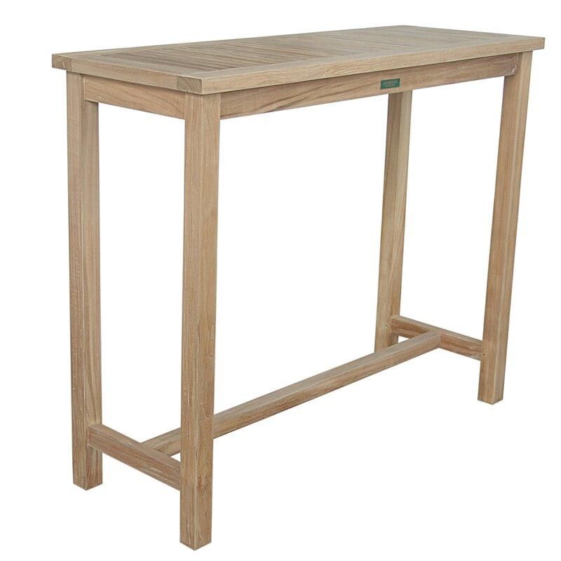 Windsor Solid Wood Bar Table