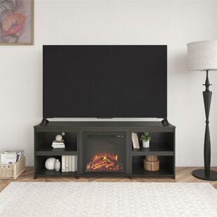 Ruchi TV Stand for TVs up to 65 with Fireplace Included