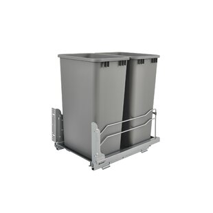 12.5 Gallon Pull Out Trash Can by Rev-A-Shelf