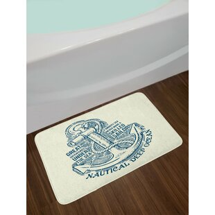 Anchor Skilled Sailor Bath Rug