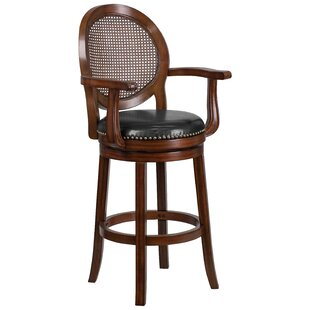 Nyo 30'' Swivel Bar Stool DarHome Co