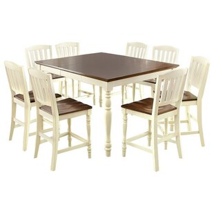 Reviews Andrew Cottage Counter Height Dining Table ByAugust Grove