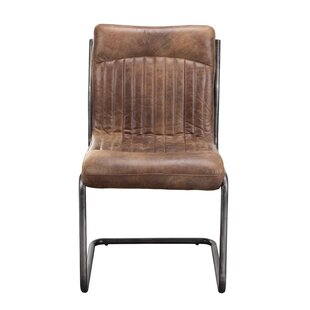 Belmiro Modern Genuine Leather Upholstere..