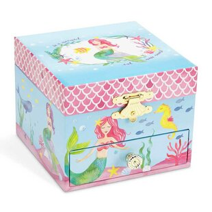 Affordable Mermaid Princess Musical Jewelry Box By Harriet Bee