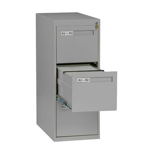 3 Drawer Vertical Letter Size File Cabinet
