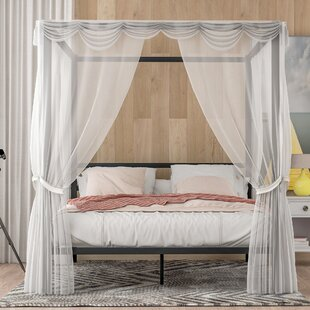 Annistin Queen Canopy Bed