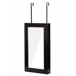 Shop For Denaux Over the Door Jewelry Armoire with Mirrror ByWinston Porter