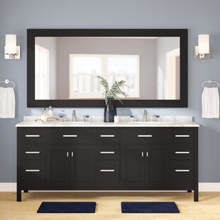 84 Inch Double Sink Vanity Wayfair