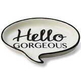 Wilbanks 'Hello Gorgeous' Talk Bubble Trinket Dish
