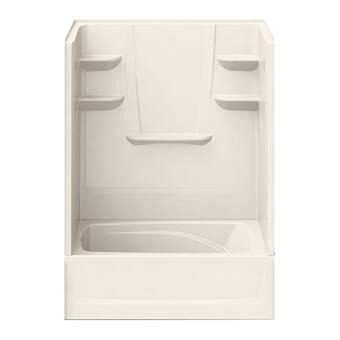 Samson 60 W X 75 H Framed Rectangle Shower Stall And Base Included Wayfair