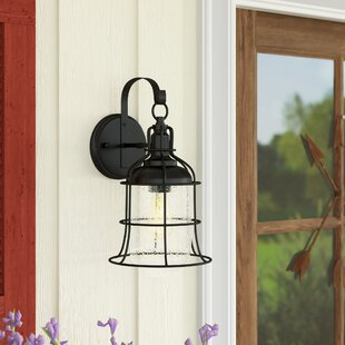 Khine 1-Light Outdoor Wall Lantern