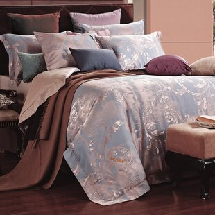 Dolce Mela 6 Piece Reversible Duvet Cover Set