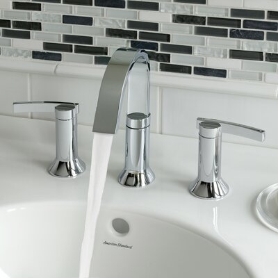 Berwick High Arc Widespread Bathroom Faucet With Speed Connect Drain American Standard