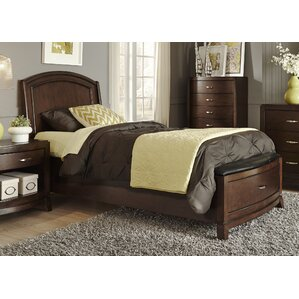 Loveryk Upholstered Panel Bed by Darby Home Co