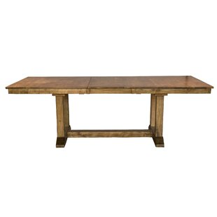 Ian Extendable Solid Wood Dining Table One Allium Way