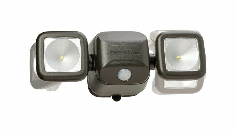 Led Battery Operated Outdoor Security Flood Light With Motion Sensor