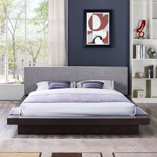 Rennan Queen Upholstered Platform Bed by World Menagerie