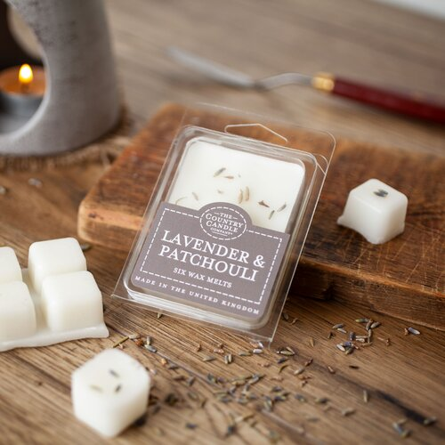 Lavender and Patchouli Scented Wax Melt (Set of 2) The