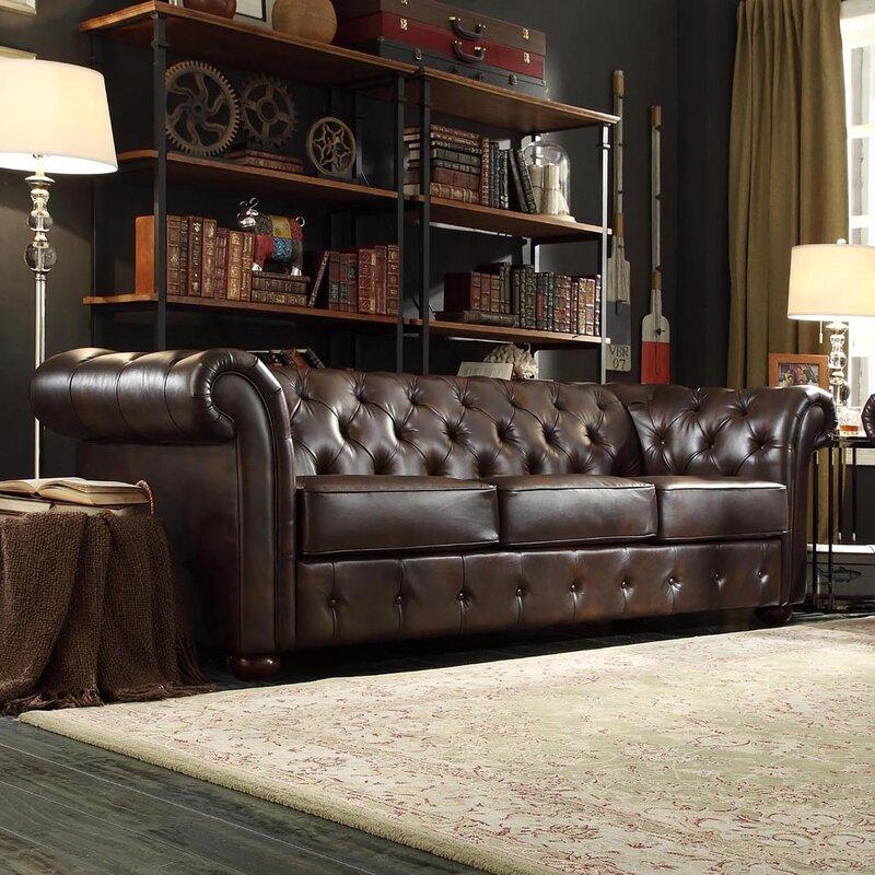 Vegard Tufted Chesterfield Sofa