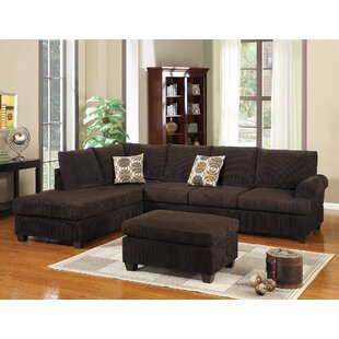 Latitude Run Bolz Reversible Sectional