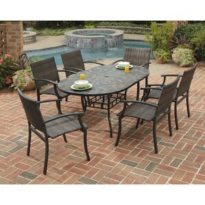 Mosaic Patio Dining Sets Youll Love Wayfair