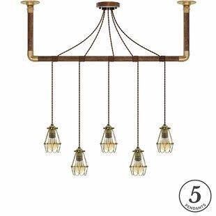 17 Stories Lily 5-Light Kitchen Island Pe..