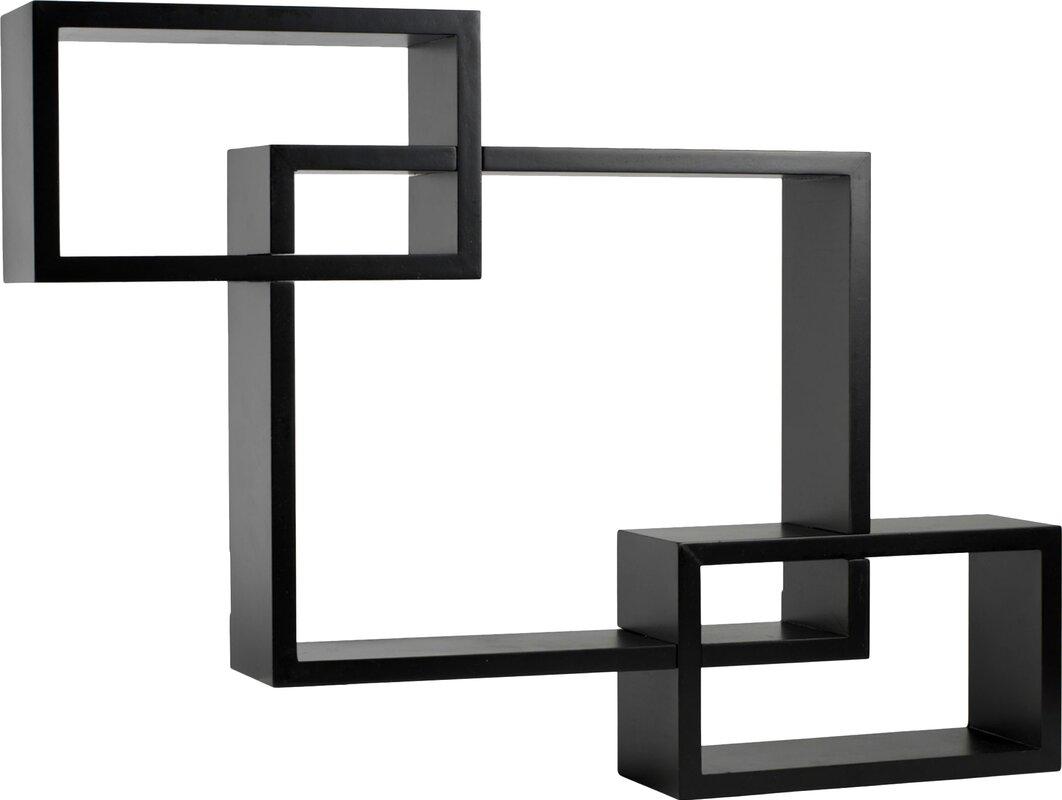 Melannco Interlocking Shelves & Reviews | Wayfair