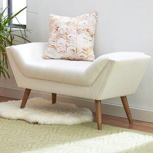 Shaula Upholstered Bench by Mercury Row