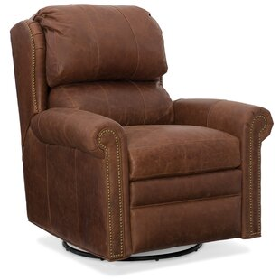 Comparison Satchel Leather Manual Wall Hugger Recliner By Bradington-Young